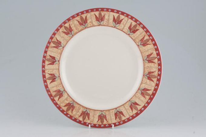 """Johnson Brothers Papyrus Dinner Plate 10 3/4"""""""