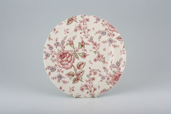 Johnson Brothers Rose Chintz - Pink Breakfast / Salad / Luncheon Plate 8 3/4""