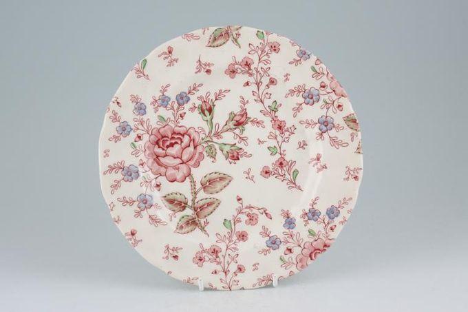 "Johnson Brothers Rose Chintz - Pink Starter / Salad / Dessert Plate 7 7/8"""