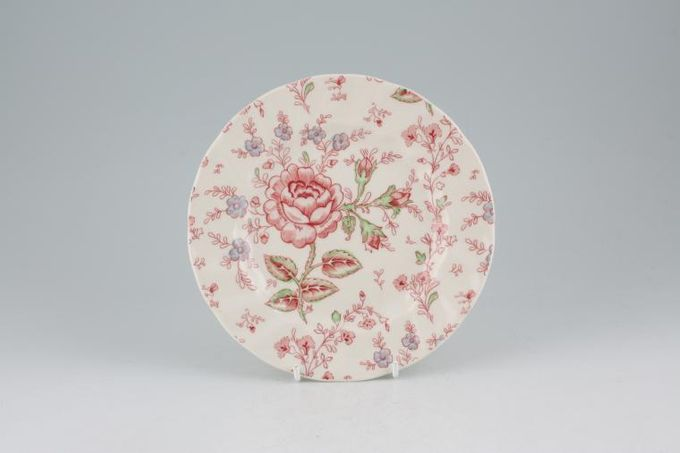 Johnson Brothers Rose Chintz - Pink Tea / Side / Bread & Butter Plate 7""