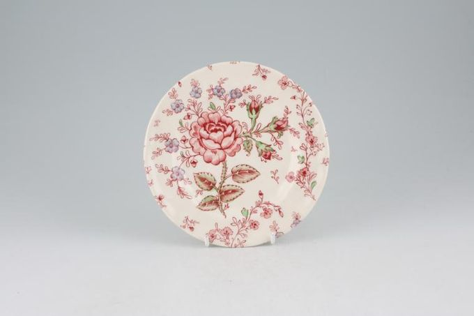 Johnson Brothers Rose Chintz - Pink Tea / Side / Bread & Butter Plate 6""