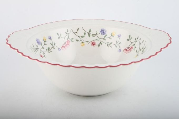"""Johnson Brothers Summer Chintz Vegetable Tureen Base Only 11 1/4 x 3 1/2"""""""