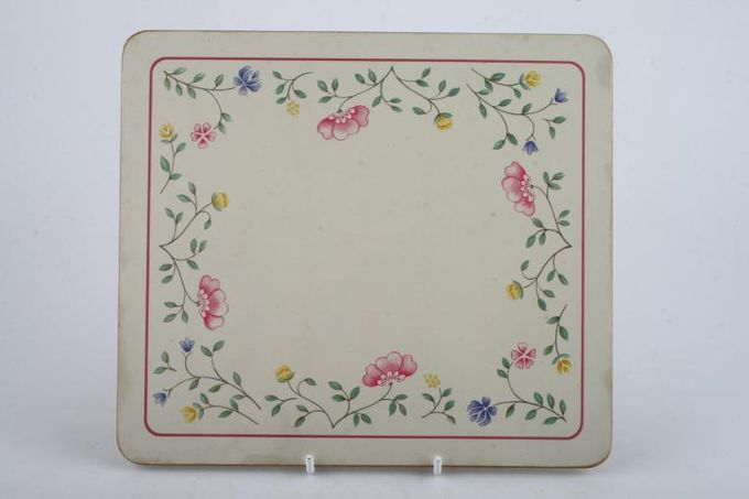 """Johnson Brothers Summer Chintz Placemat 8 1/2 x 7 1/2"""""""