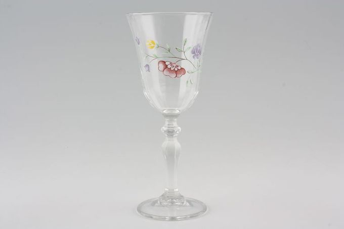 Johnson Brothers Summer Chintz Medium Wine Glass 2 3/4 x 6 5/8""