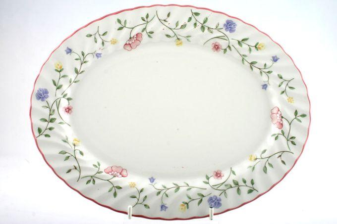"Johnson Brothers Summer Chintz Oval Plate / Platter 11 7/8"""