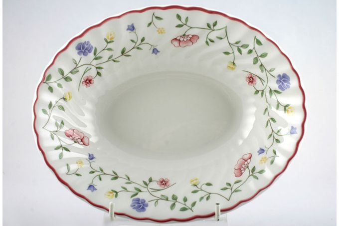 Johnson Brothers Summer Chintz Vegetable Dish (Open) 9""
