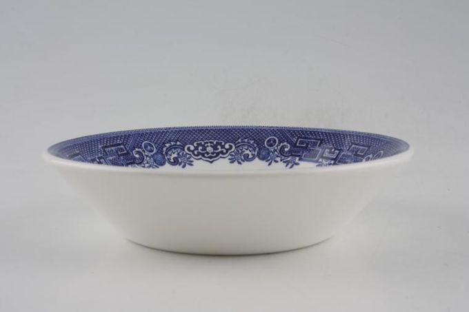 """Johnson Brothers Willow - Blue Fruit Saucer 5"""""""