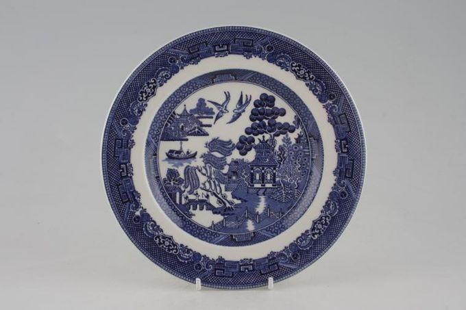 "Johnson Brothers Willow - Blue Starter / Salad / Dessert Plate 8 1/2"""