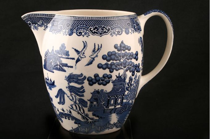 """Johnson Brothers Willow - Blue Jug 1 3/4"""""""