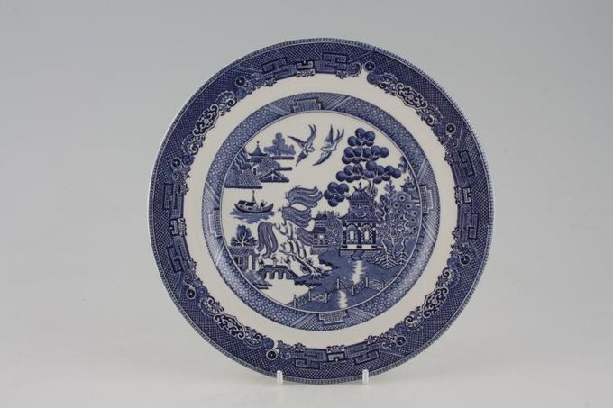 Johnson Brothers Willow - Blue Breakfast / Salad / Luncheon Plate 8 7/8""