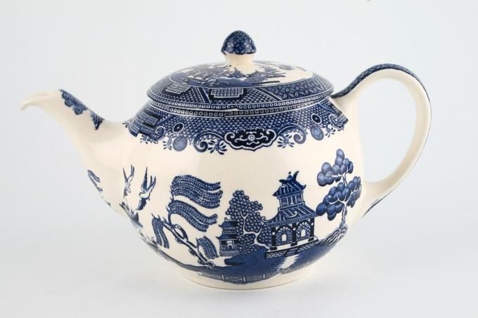 Johnson Brothers Willow - Blue Teapot 1 1/2pt