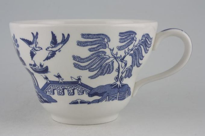 Johnson Brothers Willow - Blue Breakfast Cup 4 1/2 x 2 3/4""