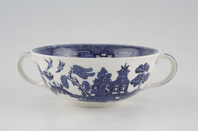 Johnson Brothers Willow - Blue Soup Cup