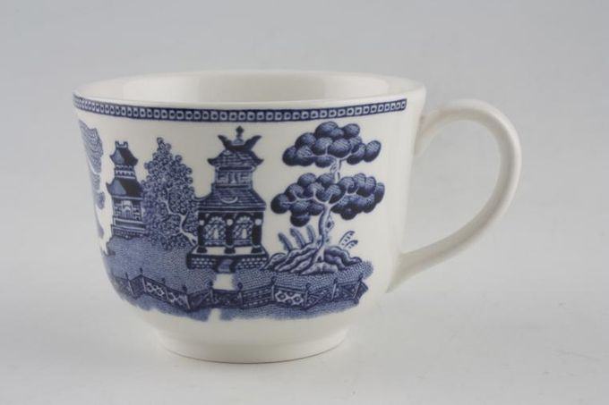 """Johnson Brothers Willow - Blue Coffee Cup 2 3/4 x 2 1/8"""""""