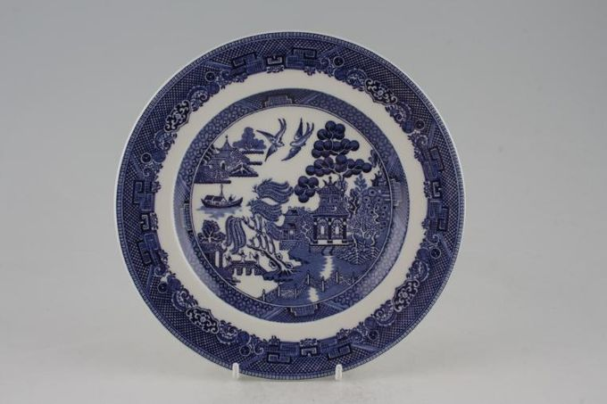 Johnson Brothers Willow - Blue Starter / Salad / Dessert Plate 7 3/4""