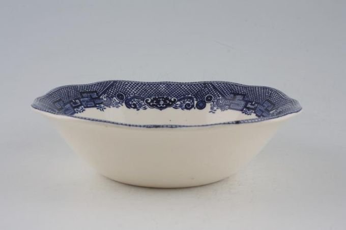 Johnson Brothers Willow - Blue Bowl Square edged 6 3/8""