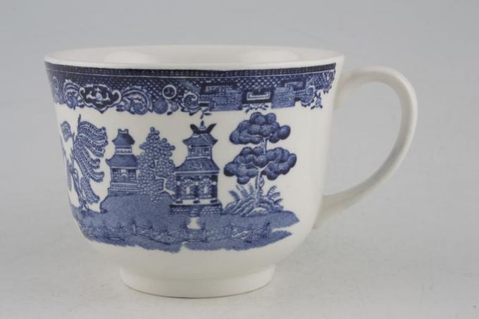 Johnson Brothers Willow - Blue Teacup 3 3/8 x 2 5/8""