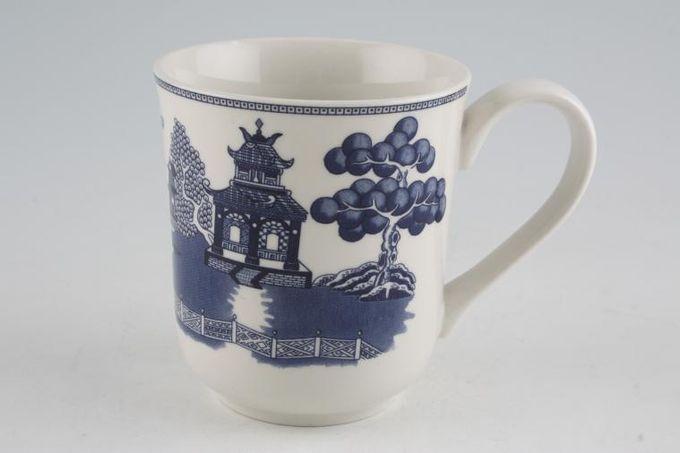 "Johnson Brothers Willow - Blue Mug 3 1/2 x 4"""