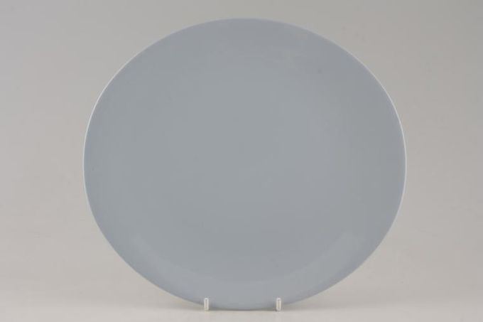 Johnson Brothers Blue Cloud Dinner Plate oval 10 1/4""