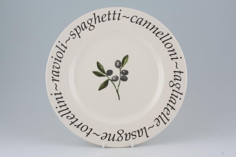Johnson Brothers - Italian - Dinner Plate - Creative Tableware B/S - Pale cream background