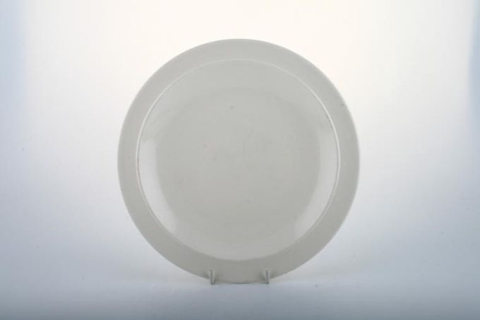 "Johnson Brothers Spirits of Nature - Plain White Breakfast / Salad / Luncheon Plate 8 3/4"""