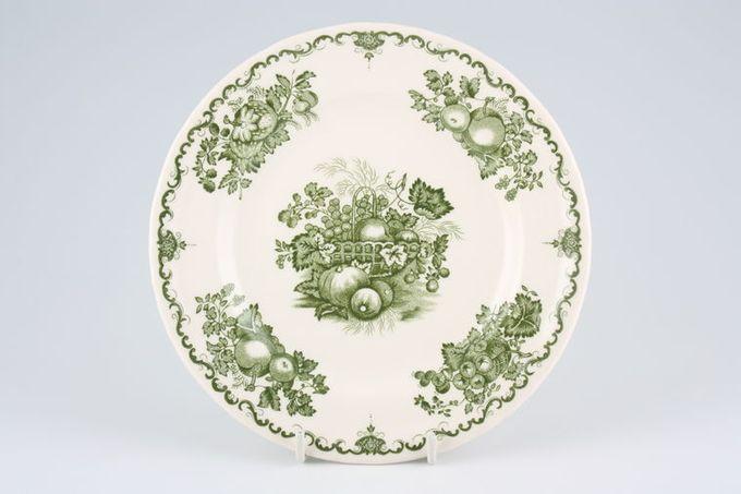 """Johnson Brothers Fruit Basket - Green Starter / Salad / Dessert Plate 7 3/4"""""""