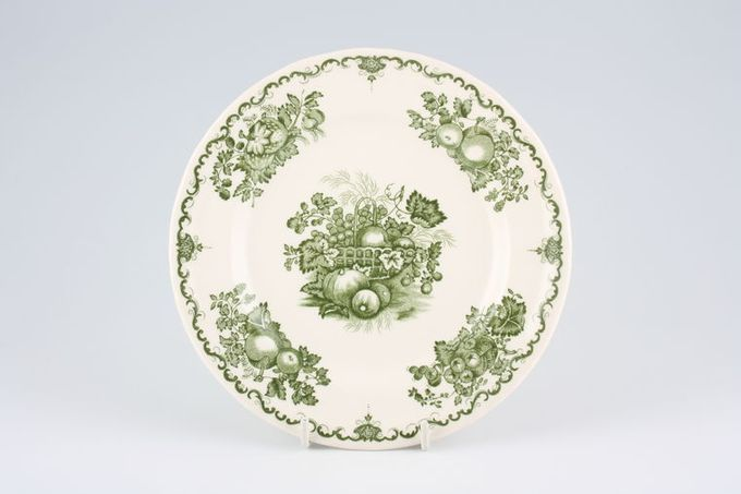 Johnson Brothers Fruit Basket - Green Tea / Side / Bread & Butter Plate 6 3/4""