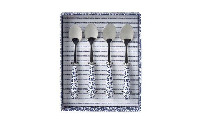Laura Ashley Blueprint Collectables Set of 4 Tea Spoons Floris