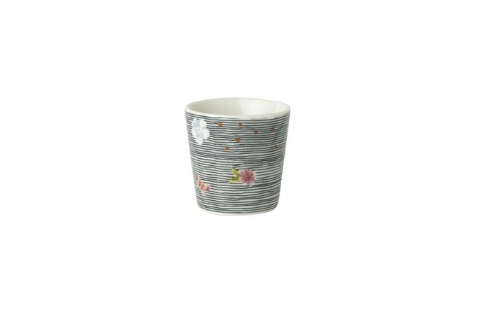 Laura Ashley Heritage Collectables Egg Cup Midnight Pinstripe