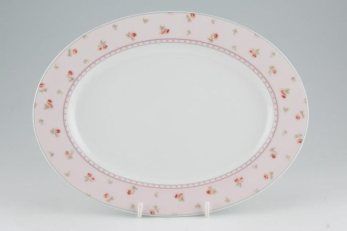 Laura Ashley Louisa Oval Plate / Platter 11""