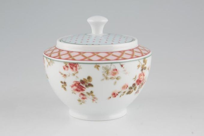 Laura Ashley Louisa Sugar Bowl - Lidded (Tea)