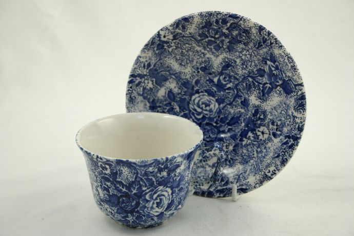 Laura Ashley Chintzware - Blue