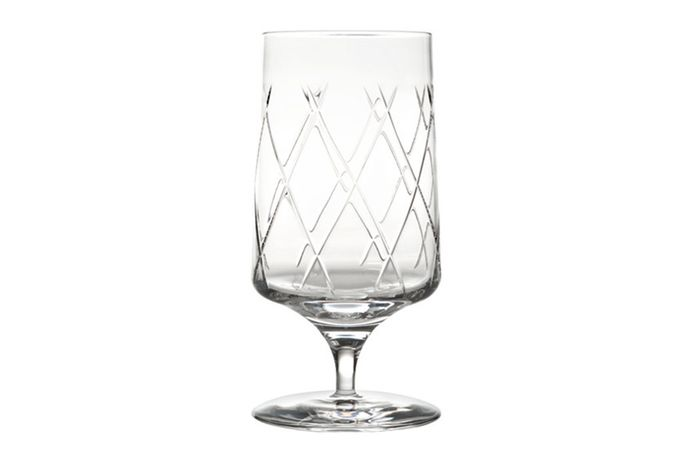 Atlantis Crystal Ritz Goblet - Glass Water Goblet - Crystal 30% 16cm
