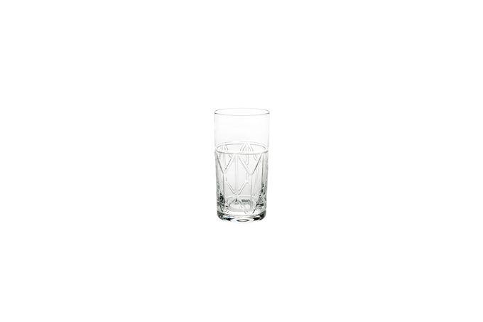 Atlantis Crystal Avenue Highball Single Glass 7.5 x 14cm