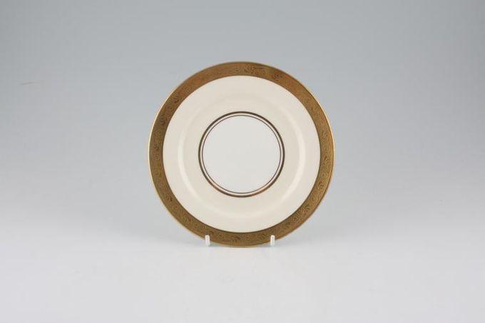 """Aynsley Helene - gold, cream, white Tea / Side / Bread & Butter Plate 6 3/8"""""""