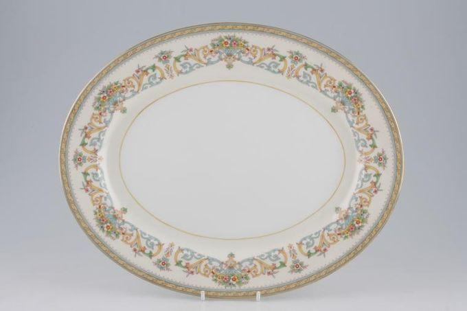 "Aynsley Henley - C1129 Oval Plate / Platter 13 3/4"""
