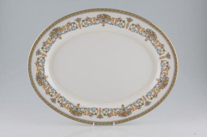 "Aynsley Henley - C1129 Oval Plate / Platter Large 15 7/8"""