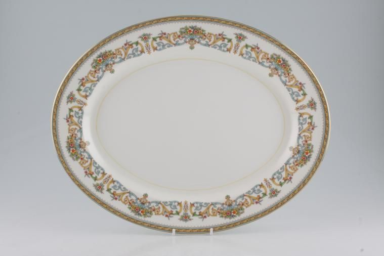 Aynsley - Henley - C1129 - Oval Plate / Platter - Large