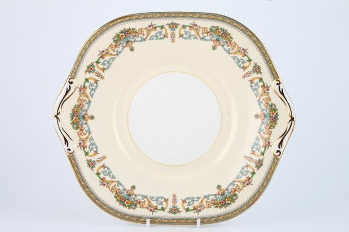 """Aynsley Henley - C1129 Cake Plate Square 10 3/8"""""""