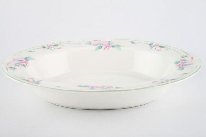 """Aynsley Little Sweetheart Vegetable Dish (Open) oval 10 7/8"""""""