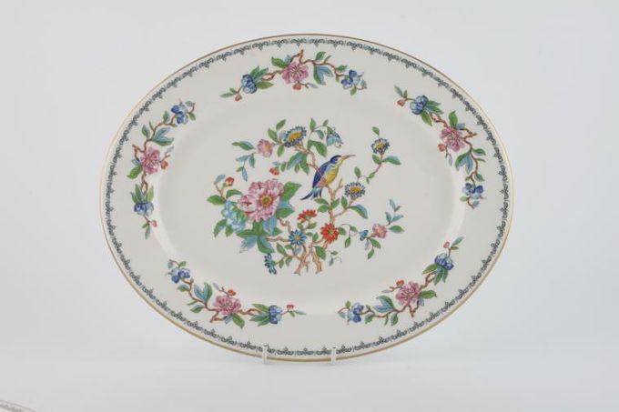 """Aynsley Pembroke Oval Plate / Platter 13 3/4"""""""