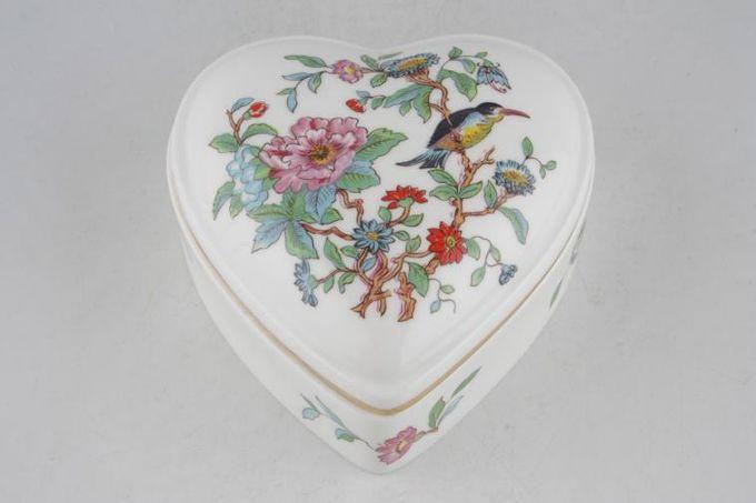 Aynsley Pembroke Box heart shaped trinket box