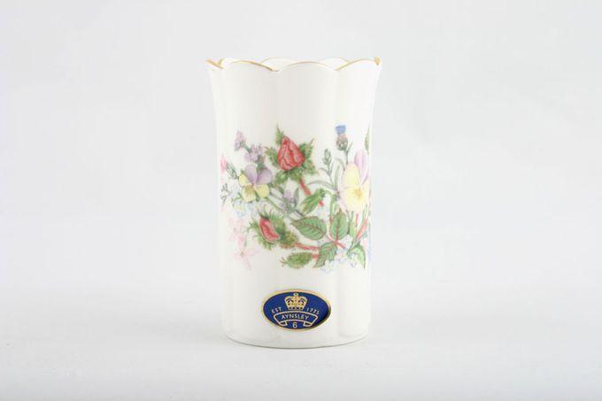 "Aynsley Wild Tudor Vase Mayfair vase - mini 2 x 3 3/8"""