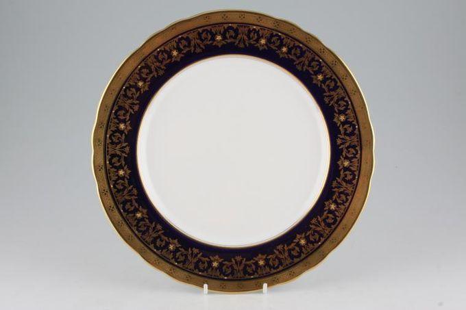 "Aynsley Kenilworth - Cobalt 7023 Dinner Plate Wavy Edge 10 1/2"""