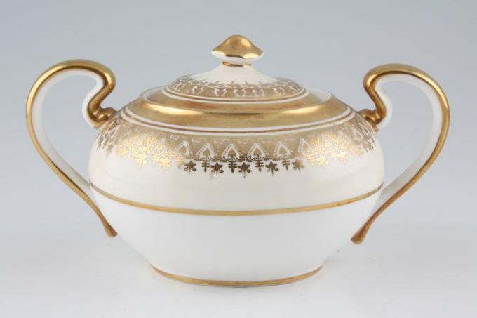 Aynsley Champagne Sugar Bowl - Lidded (Tea) 2 handles