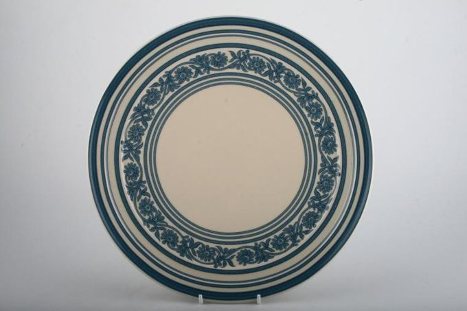 Marks & Spencer Florence - Blue - Red Dinner Plate Blue 10 7/8""