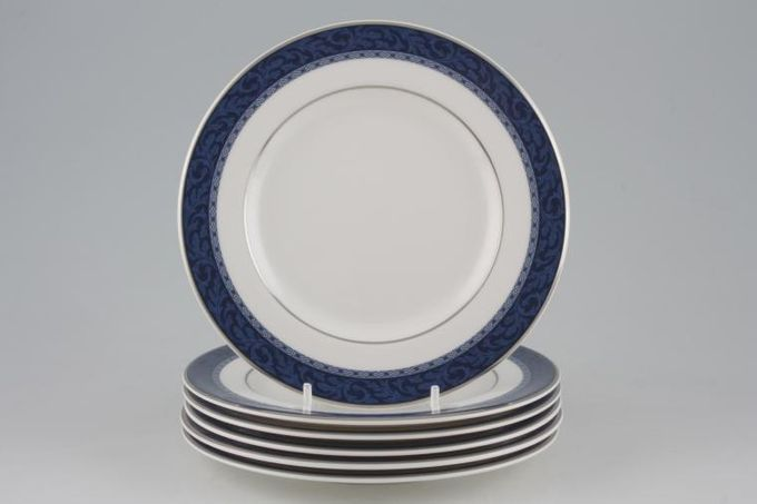 """Marks & Spencer Hampton Tea / Side / Bread & Butter Plates - Set of 6 Stock clearance offer. Some seconds. 6 1/2"""""""