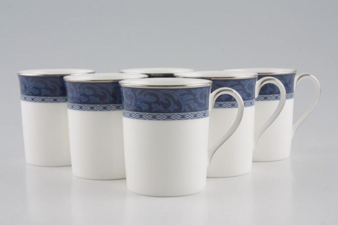 """Marks & Spencer Hampton Coffee Cans - Set of 6 Stock clearance offer. Some seconds. 2 1/4 x 2 3/4"""""""