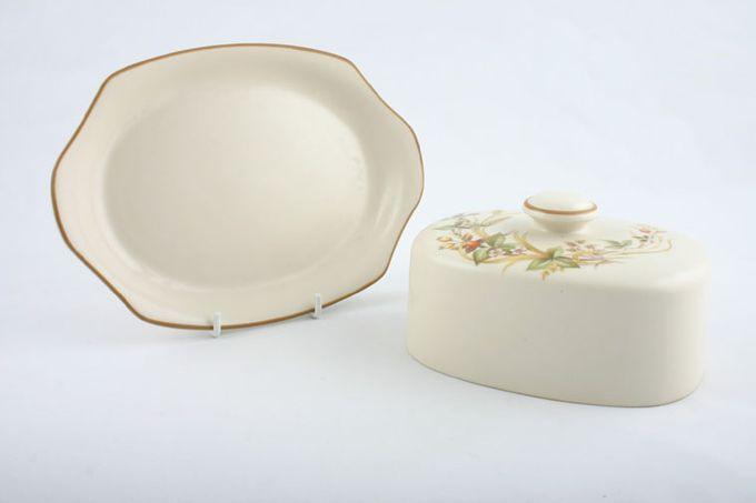 Marks & Spencer Harvest Butter Dish + Lid Flat domed lid - smooth base