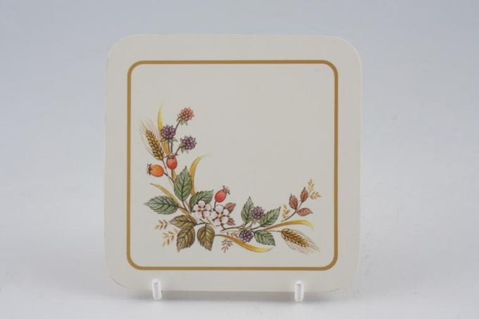 Marks & Spencer Harvest Coaster Cork back 4""